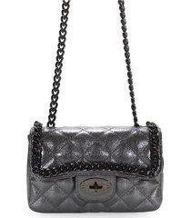 marc ellis keisha gunmetal crossbody bag