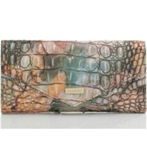 brahmin leather veronica gemstone melbourne envelope wallet