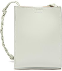 'tangle' braided shoulder strap leather small crossbody bag
