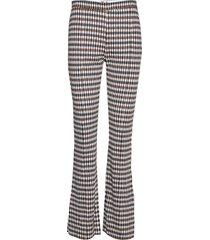 joni pantalon met rechte pijpen blauw baum und pferdgarten