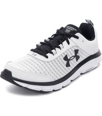 zapatilla ua charged assert 8 gris under armour