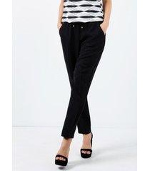 spodnie z ozdobnym wiązaniem