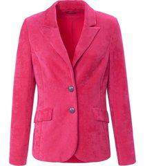 nicky-blazer met reverskraag van basler roze