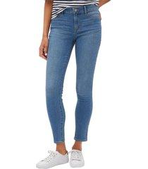 jeans legging light indigo azul gap