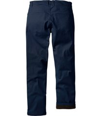 pantaloni termici elasticizzati regular fit (blu) - bpc bonprix collection