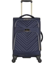 "kenneth cole reaction chelsea 20"" softside carry-on spinner"