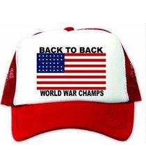 back to back world war champs hat / cap