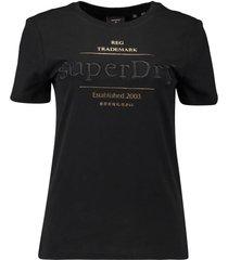 t-shirt established zwart