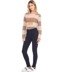 calca zinco jegging cos intermediario basica jeans - jeans - feminino - dafiti