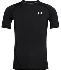 ua hg armour comp ss t-shirts short-sleeved svart under armour