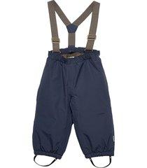 wilas suspenders pants, k outerwear snow/ski clothing snow/ski pants blå mini a ture