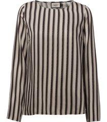 anne print blouse blouse lange mouwen multi/patroon morris lady
