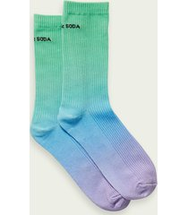 scotch & soda sporty dip-dye socks
