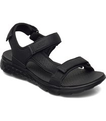 mens on-the-go 400 - explorer shoes summer shoes sandals svart skechers
