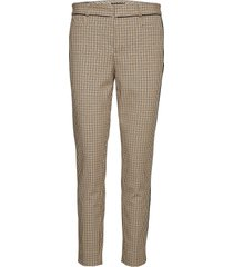modern sloan skinny-fit washable pant with piping slimfit broek skinny broek beige banana republic
