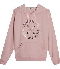 buzo mujer 2020 color rosado, talla l