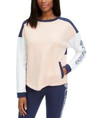 columbia lodge ii colorblock sweatshirt