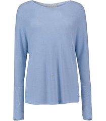 trui bree knit lichtblauw