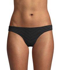 textured bikini bottom