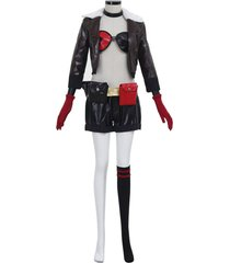 batman harley quinncosplay costume women's outfit