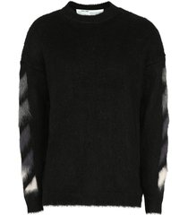 off-white mohair-wool sweater