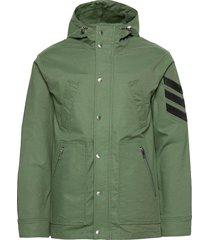 bolt amo braided cotton outerwear tunn jacka grön zadig & voltaire