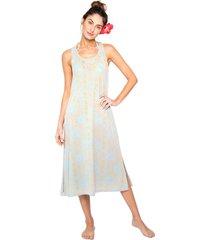 vestido mid lichia luz azul - tricae