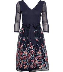dresses knitted jurk knielengte blauw esprit collection