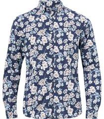 skjorta jprblasummer print shirt l/s
