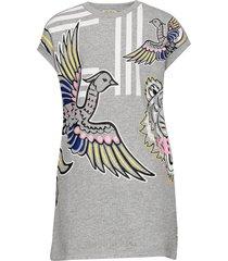 jaelle jurk grijs kenzo