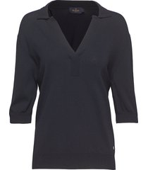 coline knit t-shirts & tops knitted t-shirts/tops blå morris lady