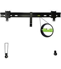 suporte tv led/lcd 32/70 fixo preto sbrl501 brasforma