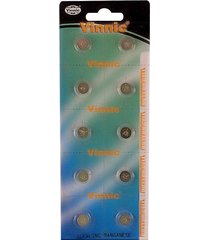 card of ten lr41 equivalent alkaline batteries for streamlight key chain nanolig