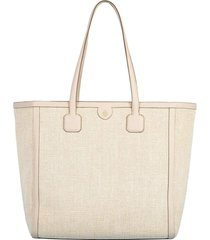 antibes washed linen tote