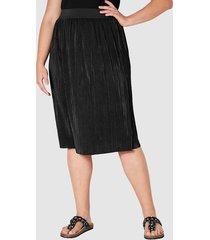 plisserad kjol angel of style svart