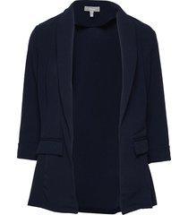 frvedusa 2 blazer blazers casual blazers blå fransa