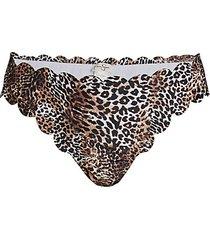 scallop edge hipster bikini bottom