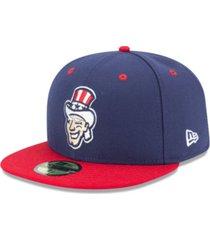 new era harrisburg senators ac 59fifty fitted cap