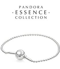 bracelete essence collection pontos prata de lei