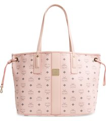 mcm medium liz reversible shopper - pink
