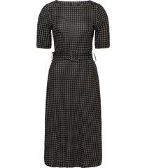 dresses knitted knälång klänning grå esprit collection
