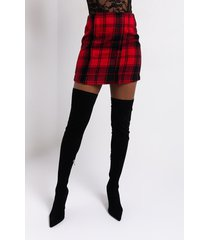 akira rebel with a cause plaid skirt