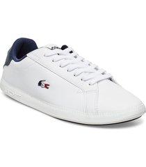 graduate tri 1 sfa låga sneakers vit lacoste shoes