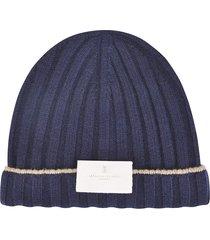 brunello cucinelli knit beanie
