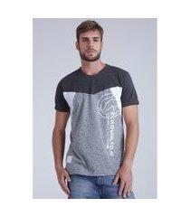 camiseta ecko especial cinza claro