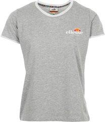 t-shirt korte mouw ellesse t-shirt femme col rond uni