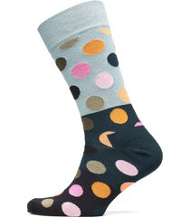 big dot block sock underwear socks regular socks multi/mönstrad happy socks