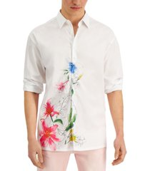 inc men's oversized floral shirt, created for macy's