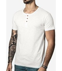 camisa hermoso compadre henley masculina
