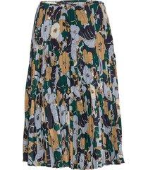 juliette skirt aop 10798 knälång kjol multi/mönstrad samsøe samsøe